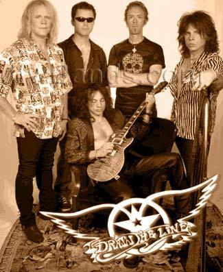 Dallas local aerosmith tribute band draw the line